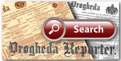 Drogheda Reporter History page search area