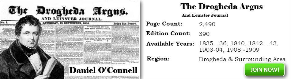 Drogheda Argus history archive subscribe now