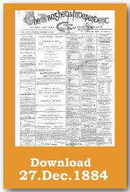 Drogheda Independent 1884 Front page download
