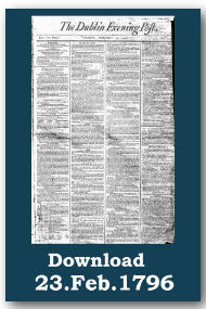 Irish Newspaper archives dublin evening post