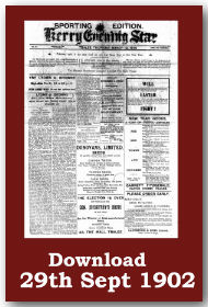 Kerry Evening Star join 19 other Kerry Newspapers on Irish Newspaper Archives