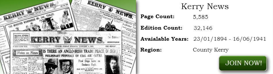 Kerry News Newspaper Archives join now page