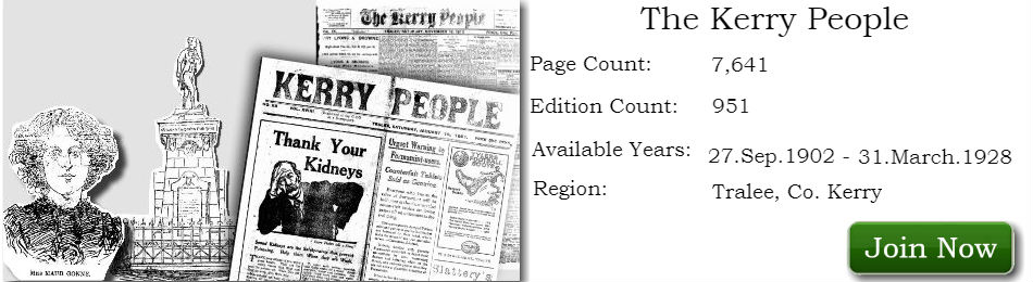 Kerry People Newspaper Archive available on Irish Newspaper Archives