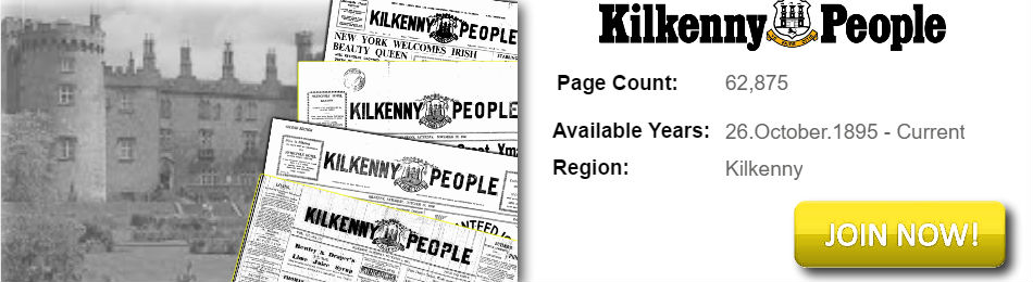 Kilkenny People Archive available on Irish Newspaper Archives