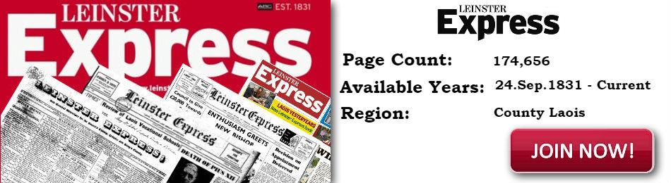 Lesinter Express Newspaper Archive available on Irish Newspaper Archives