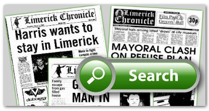 Irish Newspaper Archives search Limerick Newspapers