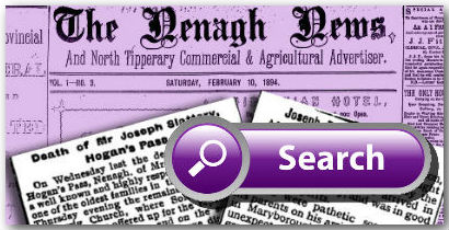 Nenagh News & North Tipperary Agricultural Adverstiser