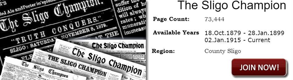 The Sligo Champion Historical Archives