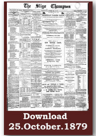 The Sligo Champion - Truth Conquers - 1879 to current archive