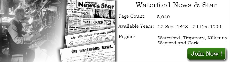 Waterford News & Star historical Archives