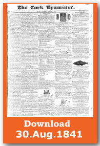 Cork Examiner now Irish Examiner first page download